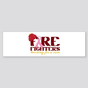 Fighters Burning For A Cure Bumper Sticker