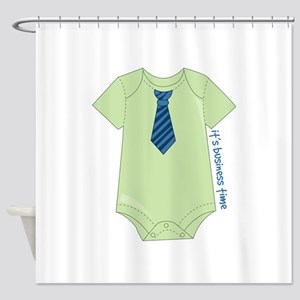 It's Business Time Shower Curtain