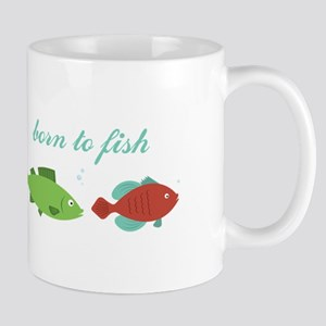 Born to Fish Mugs