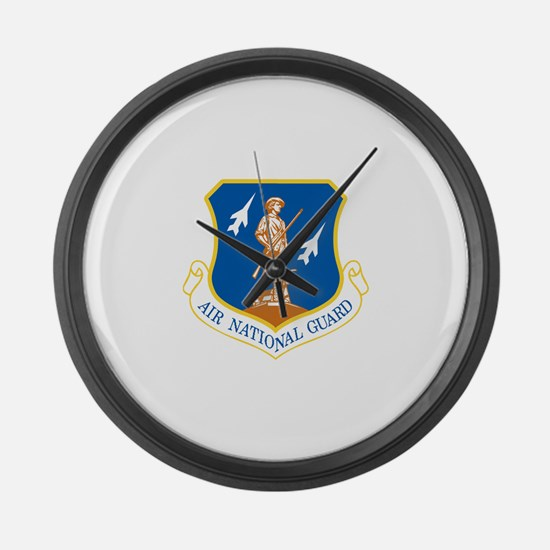 Unique National guard Large Wall Clock