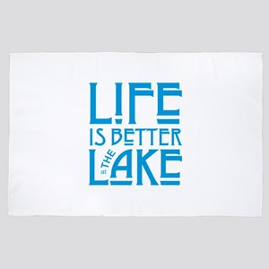 Life Better at Lake 4' x 6' Rug