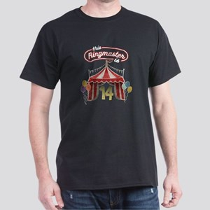 Circus Ringmaster 14th Birthday Kids T-Shirt
