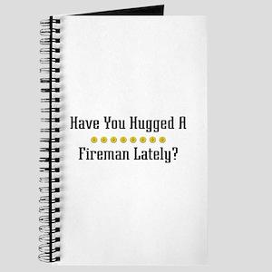 Hugged Fireman Journal