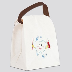 Tooth & Paste Canvas Lunch Bag