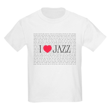 I love Jazz Kids Light T-Shirt