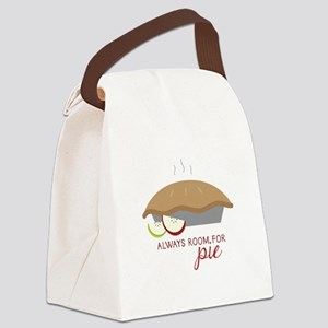 Always Room Be Pie Canvas Lunch Bag
