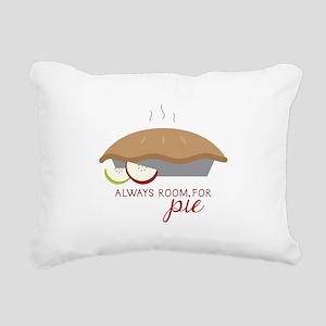 Always Room Be Pie Rectangular Canvas Pillow