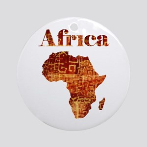 Ethnic Africa Ornament (round)