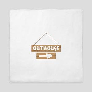 Outhouse Arrow Queen Duvet