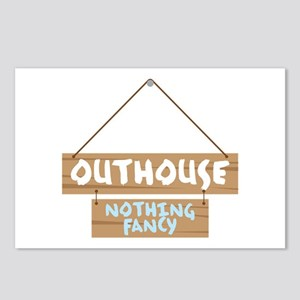 Nothing Fancy Postcards (Package of 8)