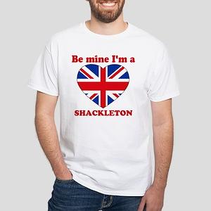 Shackleton, Valentine's Day White T-Shirt