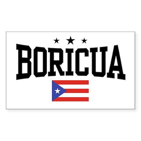 Boricua Rectangle Sticker