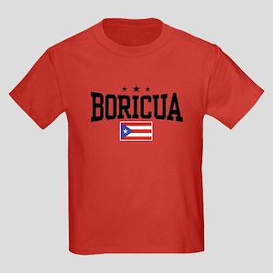 Boricua Kids Dark T-Shirt