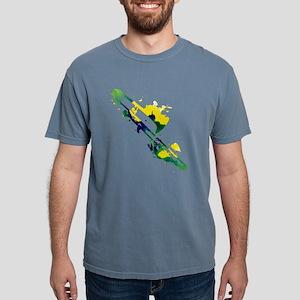Paint Splat Trombone T-Shirt