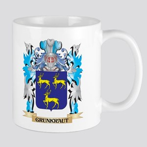 Grunkraut Coat of Arms - Family Crest Mugs