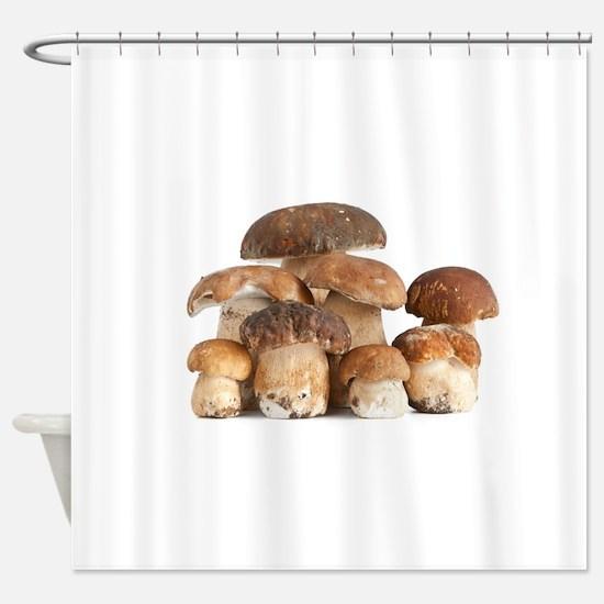 Cute Mushroom Shower Curtain