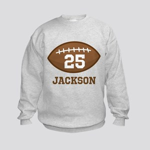 Personalized Football Player Sweatshirt