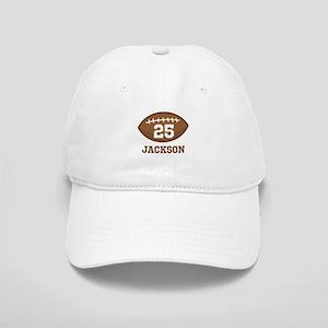 Personalized Football Player Baseball Cap