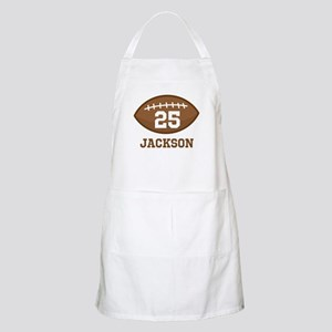 Personalized Football Player Apron