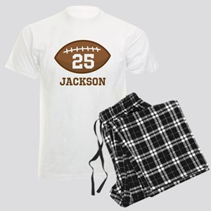 Personalized Football Player Pajamas