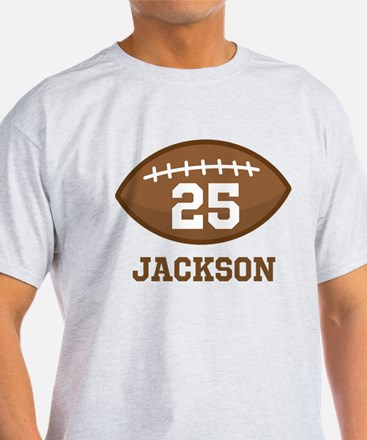 Personalized Football Player T-Shirt