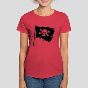 Pirate Flag Women's Dark T-Shirt