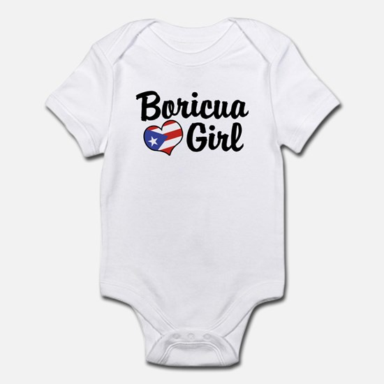 Boricua Girl Infant Bodysuit
