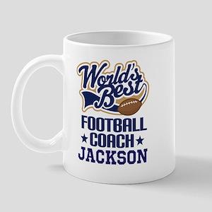 Football Coach (worlds Best) Custom Mugs
