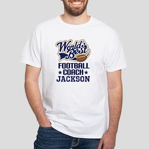 Football Coach (Worlds Best) custom T-Shirt