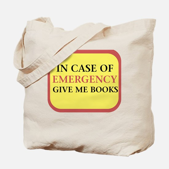 In case of Emergency Tote Bag