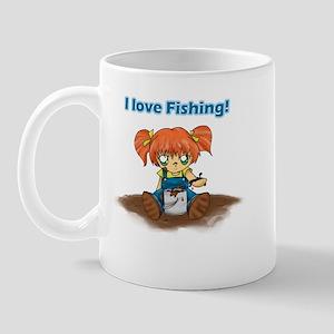 I Love Fishing! Mug
