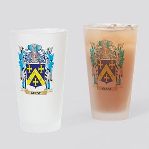 Guest Coat of Arms - Family Crest Drinking Glass