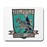 USS HARRY E. HUBBARD Mousepad