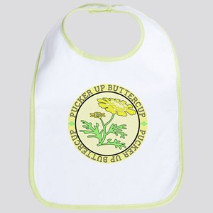 Pucker Up Buttercup Bib