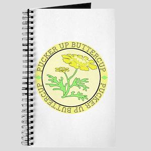 Pucker Up Buttercup Journal