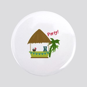 "Island Party! 3.5"" Button"