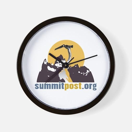 Summitpost Wall Clock
