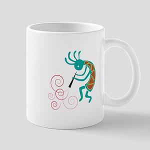 Dancing Flutist Mugs
