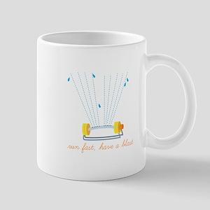 Run Fast Mugs
