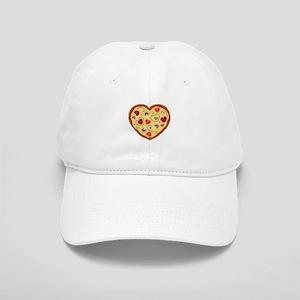 Pizza Heart Baseball Cap