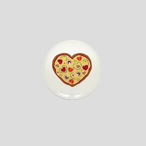 Pizza Heart Mini Button