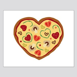 Pizza Heart Posters