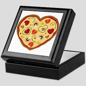 Pizza Heart Keepsake Box