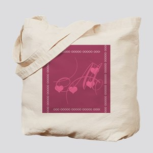 Giving Thanks Pink Tote Bag