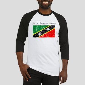 Saint Kitts and Nevis Flag Baseball Jersey