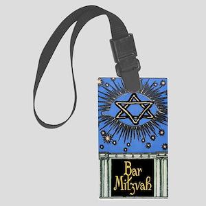 Bar Mitzvah Card Large Luggage Tag