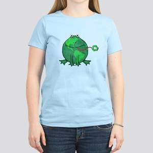 recycle reuse reduce environmental earth frog Jami