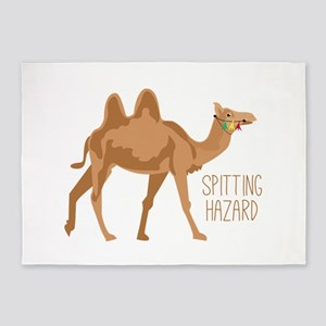 Spitting Hazard 5'x7'Area Rug