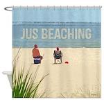 Beach Seashore Coastal Quote Shower Curtain