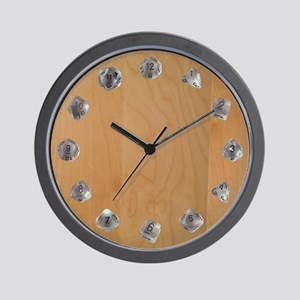 D20 Set Wall Clock